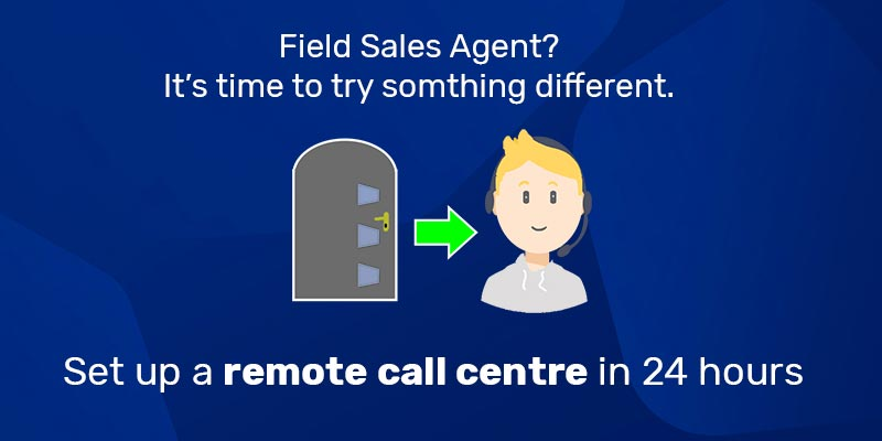 field sales agent pandemic